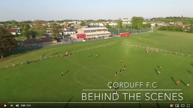 Corduff FC Video Behind The Scenes